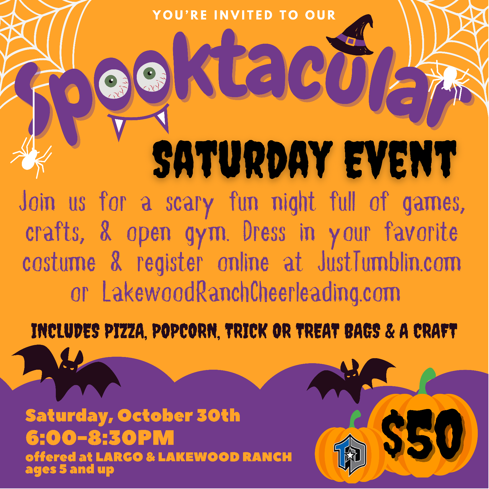 Read more about the article Spooktacular October 30th